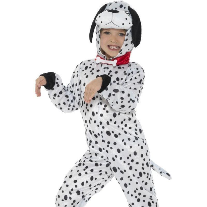 Dalmatian Costume Kids Black /white - Childrens Animal Costumes Mad Fancy Dress