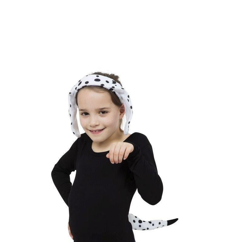 Dalmatian Set |Ears + Tail| |Instant Disguises| Unisex One Size - Instant Disguises Mad Fancy Dress