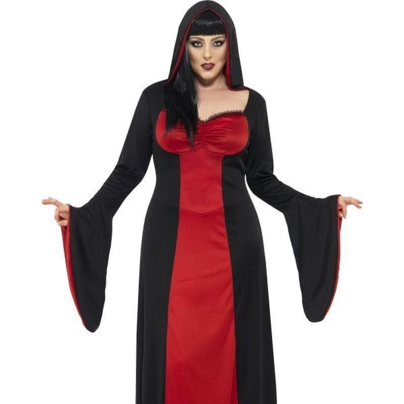 Dark Temptress Costume Adult Red/black - Halloween Costumes & Accessories Mad Fancy Dress