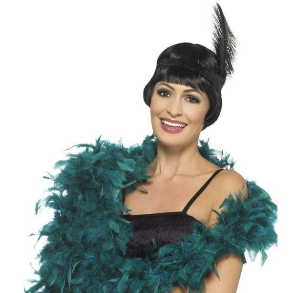 Deluxe Boa Adult Green - 20S Razzle Mad Fancy Dress
