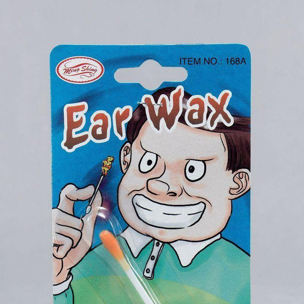 Ear Wax |On Cotton Bud| |General Jokes| Unisex Dozen - Practical Jokes Mad Fancy Dress
