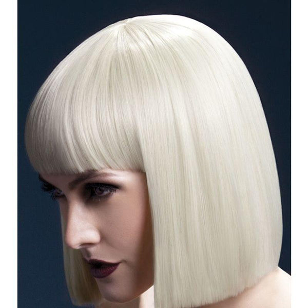 Fever Lola Wig Adult Blonde - Ladies Wigs Mad Fancy Dress