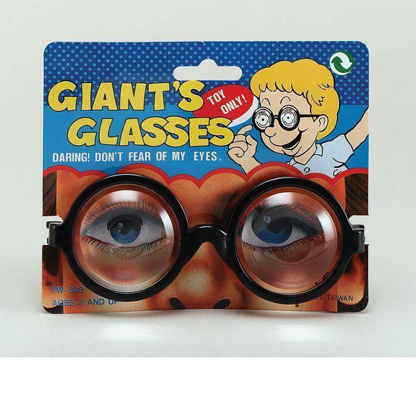 Giants Glasses |General Jokes| Unisex One Size - Practical Jokes Mad Fancy Dress
