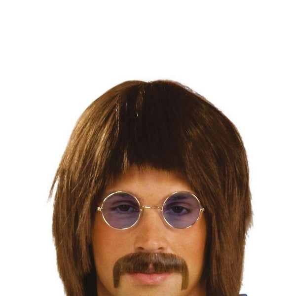 Mens 60S Singer |Wigs| Male One Size Halloween Costume - Mens Wigs Mad Fancy Dress