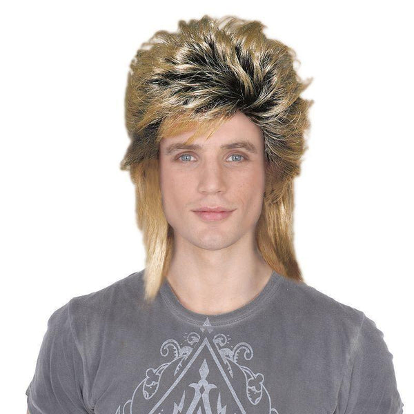 Mens 80S New Romantic Male |Wigs| Male One Size Halloween Costume - Mens Wigs Mad Fancy Dress