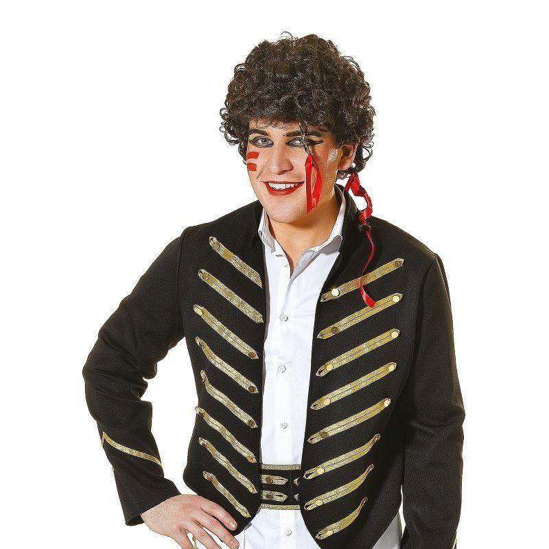 Mens Adam Ant Adult Costume Male One Size Halloween Costume - Generic Mens Costumes Mad Fancy Dress