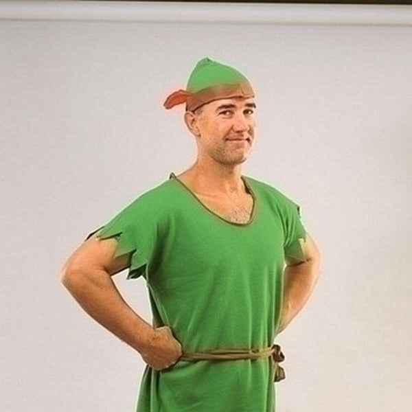 Mens Robin Hood/elf Adult Costume Male One Size Halloween Costume - Generic Mens Costumes Mad Fancy Dress