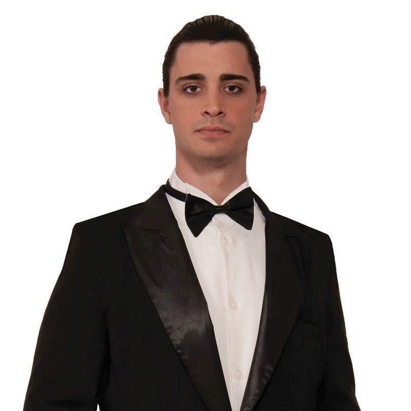 FORMAL TUXEDO TAILCOAT JACKET ADULT MENS FANCY DRESS COSTUME