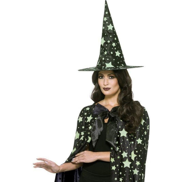 Midnight Witch Kit Adult Black - Halloween Costumes & Accessories Mad Fancy Dress