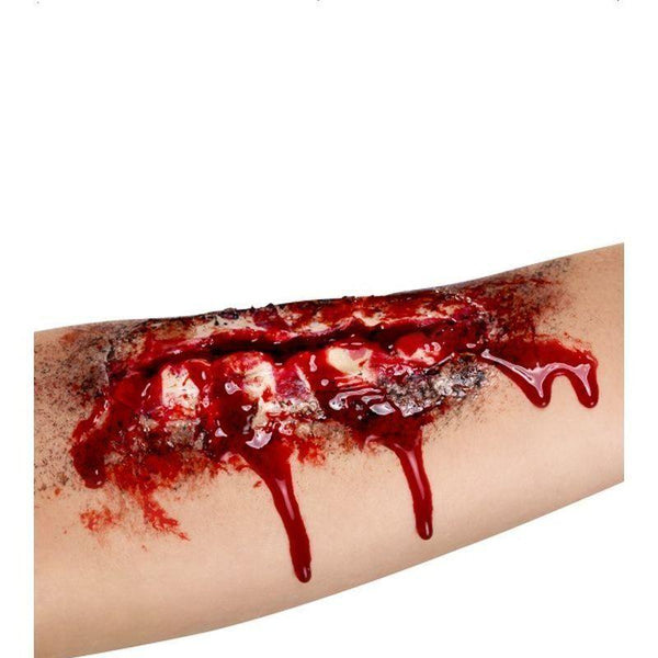 Open Wound Scar Adult Flesh - Cosmetics & Disguises Mad Fancy Dress