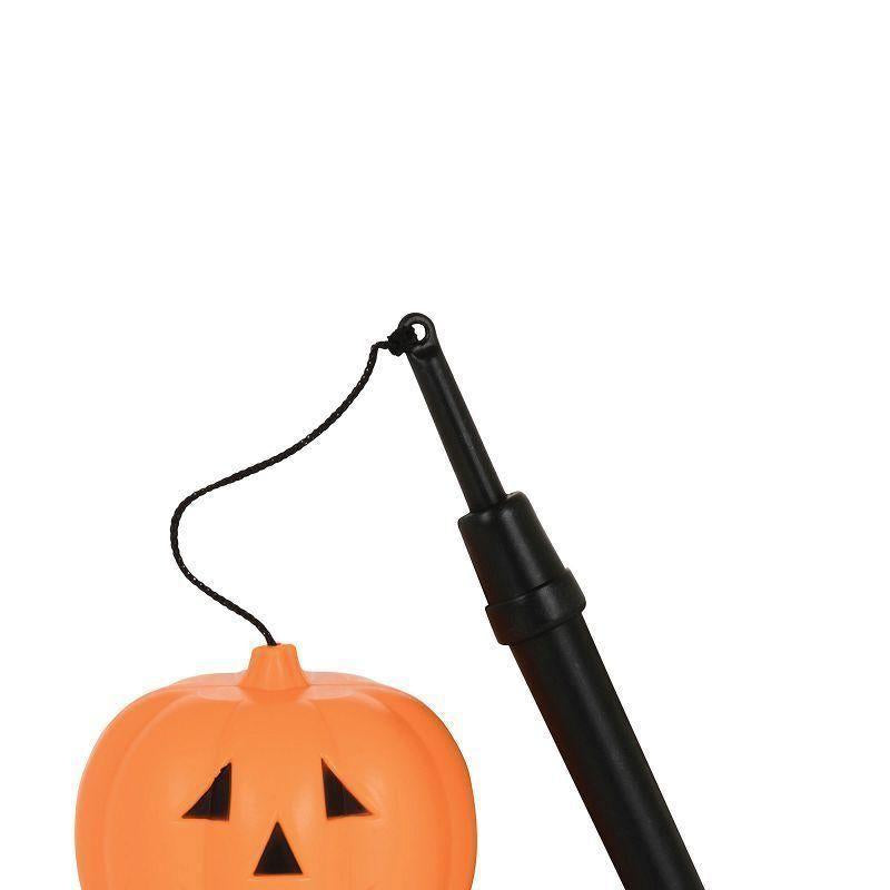 Pumpkin Lantern With Handle Small B/o |Halloween Items| Unisex One Size - Halloween Costumes And Accessories Mad Fancy Dress