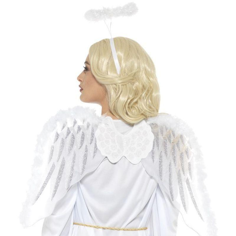 Pure Angel Set Adult White - Christmas Costumes For Women Mad Fancy Dress