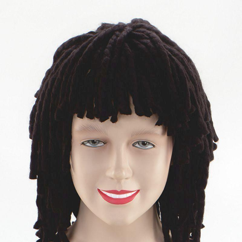 Rasta Wig Short Ruud Guillet |Wigs| Unisex One Size - Mens Wigs Mad Fancy Dress