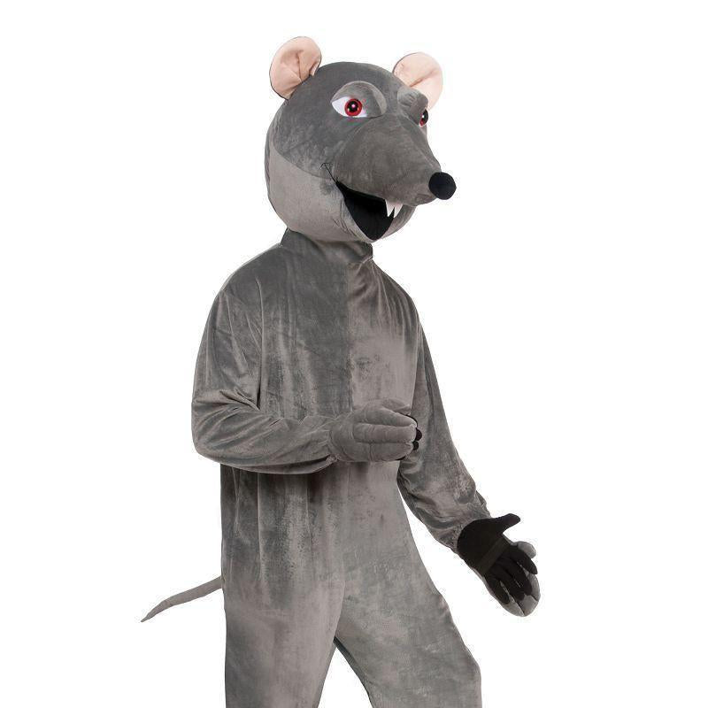 Rat Big Head Costume |Adult Costumes| Up To Chest Size 42 - Generic Mens Costumes Mad Fancy Dress