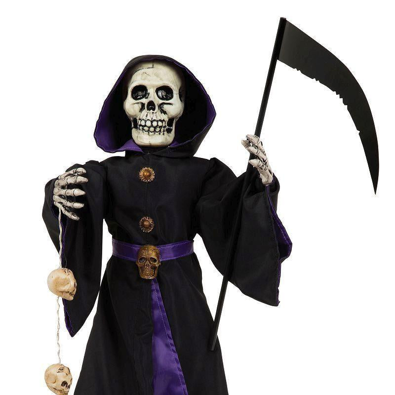 Reaper 28 Light Up + Sound |Halloween Items| Unisex One Size - Halloween Costumes And Accessories Mad Fancy Dress