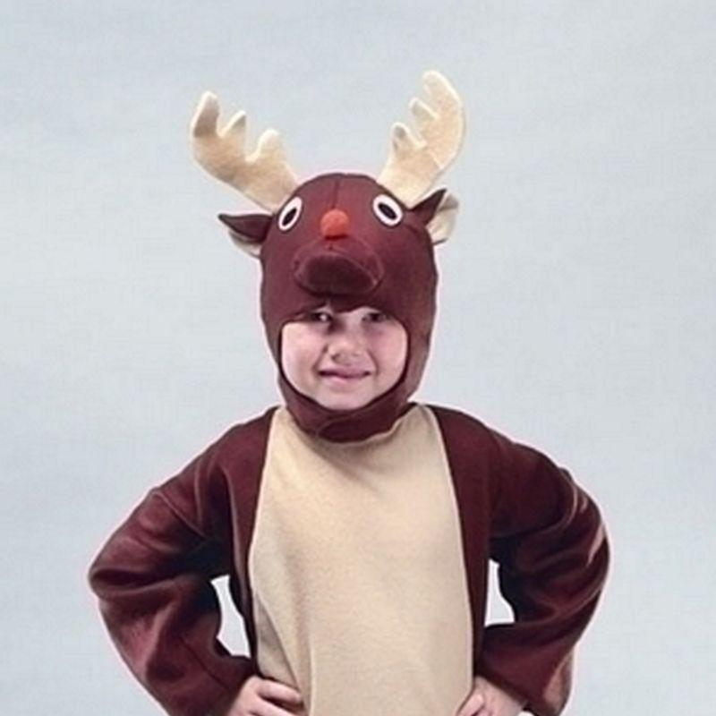 Reindeer |Medium| Childrens Costumes Unisex Medium 7 9 Years - Boys Costumes Mad Fancy Dress