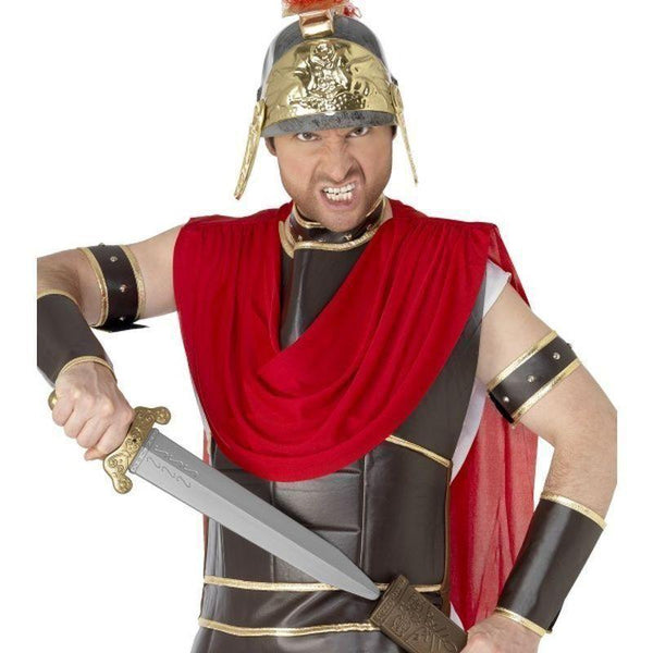 Roman Sword Adult Grey - Legends & Myth Mad Fancy Dress