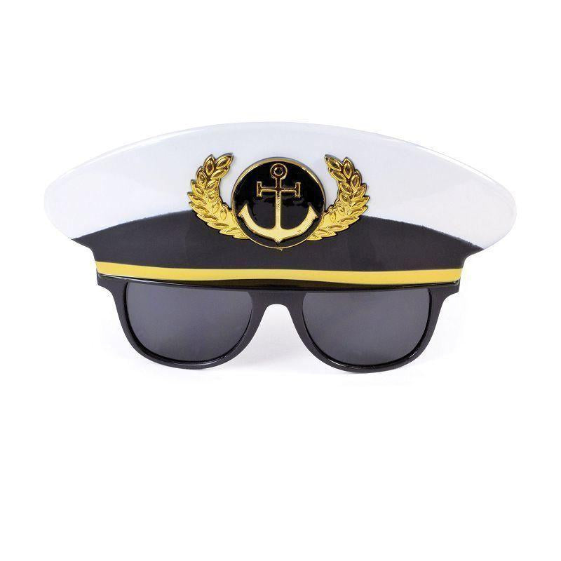 Sailor Cap Glasses |Costume Accessories| Unisex One Size - Costume Accessories Mad Fancy Dress