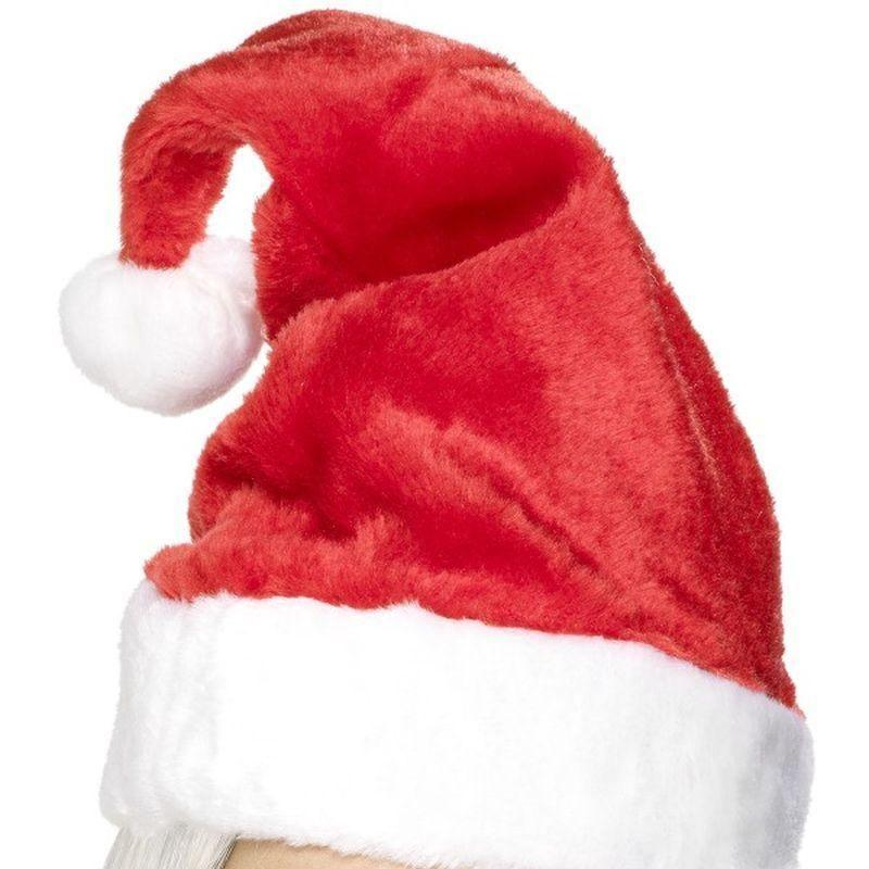 Santa Hat Adult Red - Christmas Costumes For Men Mad Fancy Dress