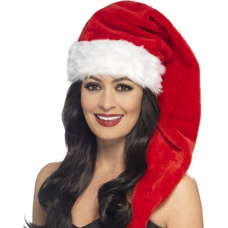 Santa Hat Adult Red - Christmas Costumes For Women Mad Fancy Dress