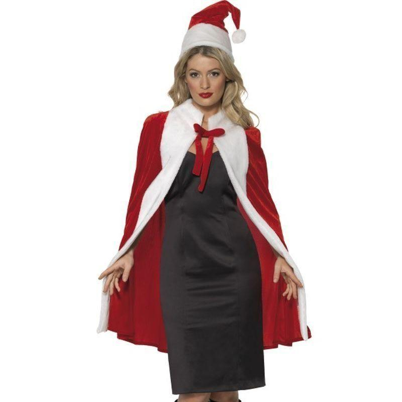 Santa Kit Adult Red/white - Childrens Christmas Costumes Mad Fancy Dress
