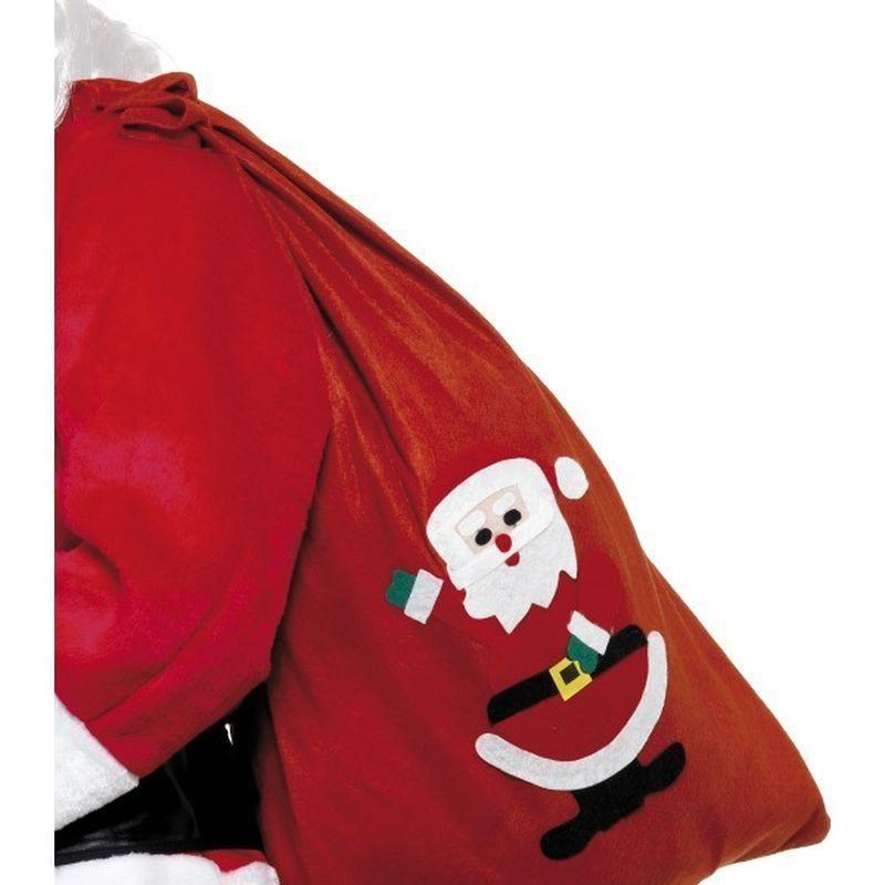 Santa Sack Adult Red - Christmas Costumes For Men Mad Fancy Dress