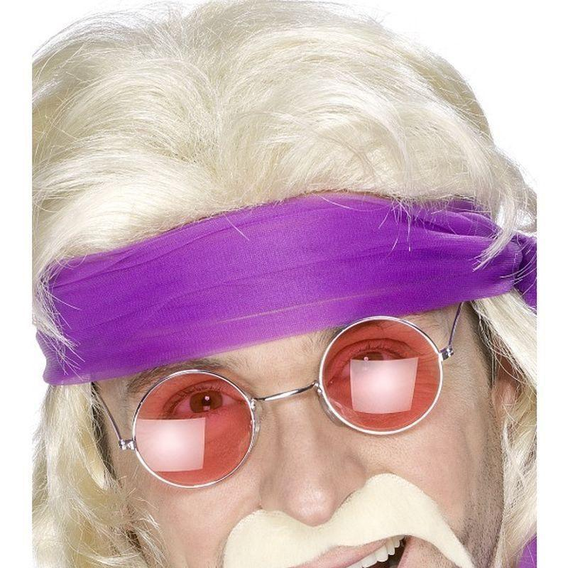 Seventies Tash Adult Blonde - 70S Disco Mad Fancy Dress