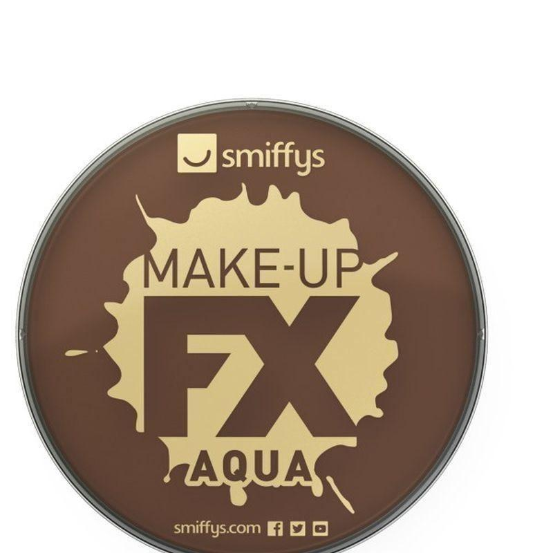 Smiffys Make Up Fx Adult Dark Brown - Cosmetics & Disguises Mad Fancy Dress