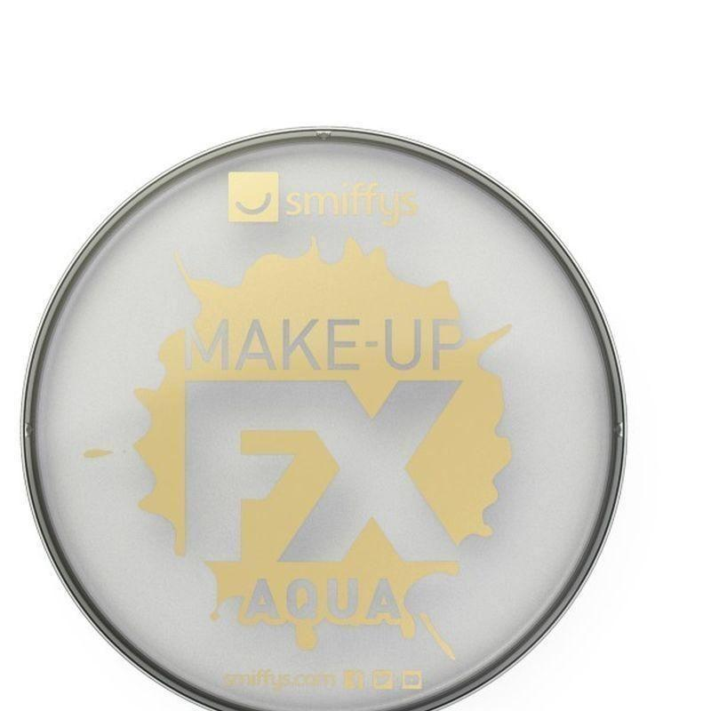 Smiffys Make Up Fx Adult Metallic Silver - Cosmetics & Disguises Mad Fancy Dress