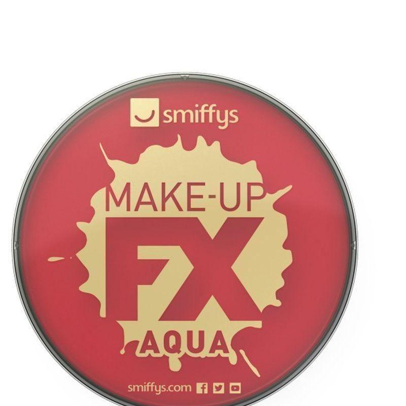 Smiffys Make Up Fx Adult Red - Cosmetics & Disguises Mad Fancy Dress