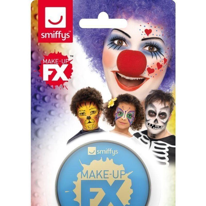 Smiffys Make Up Fx On Display Card Adult Pale Blue - Cosmetics & Disguises Mad Fancy Dress