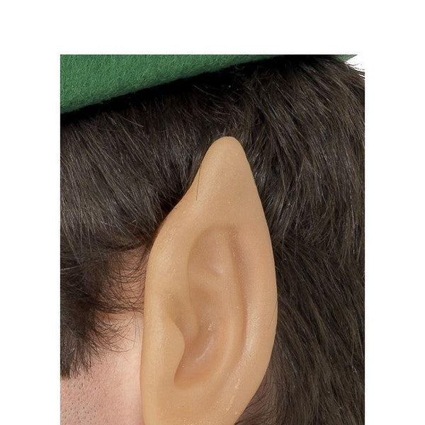 Soft Vinyl Pointed Elf Ears Adult Flesh - Christmas Costumes For Men Mad Fancy Dress