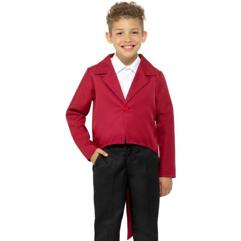 Tailcoat Kids Red - Boys Costumes Mad Fancy Dress