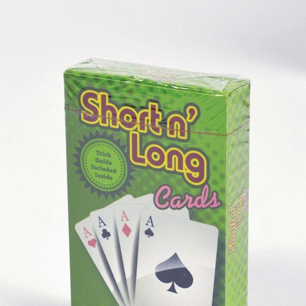 Trick Pack/cards Svengali Long/short |Magic And Conjuring| Unisex One Size - Magic Tricks Mad Fancy Dress