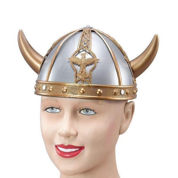 Viking Helmet Small |Hats| Unisex One Size - Hats Mad Fancy Dress