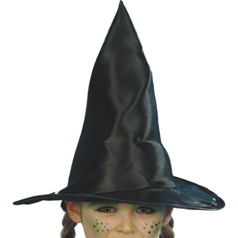 Witch Hat Child Kids Black - Halloween Costumes & Accessories Mad Fancy Dress
