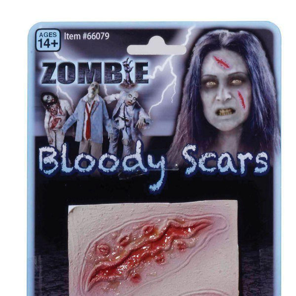 Zombie 2 Wound Scars |Make Up| Unisex Pack 2 - Make Up Mad Fancy Dress