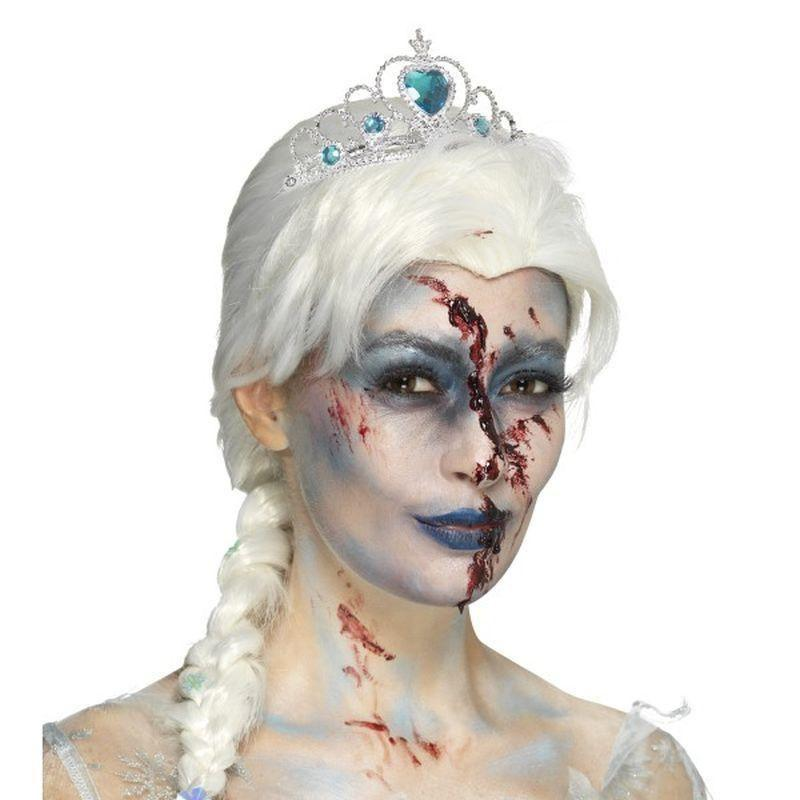 Zombie Froze To Death Wig Adult White - Halloween Costumes & Accessories Mad Fancy Dress