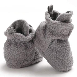 Fleece Pre-Walker Shoes 0-18M 0-6 Months