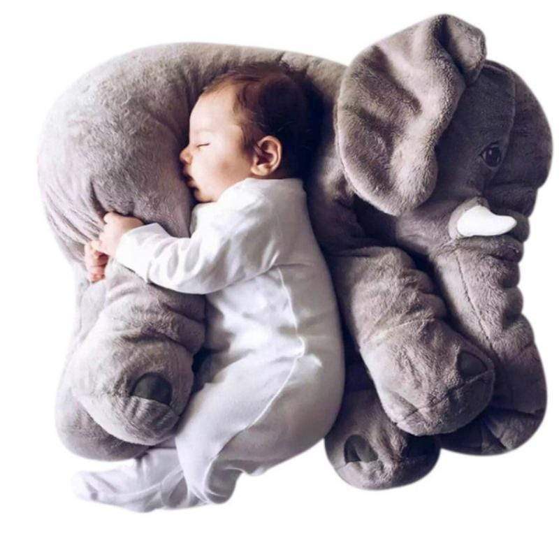 Oversized Baby Elephant Pillow