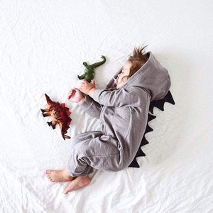 Super Soft Dinosaur Jumpsuit Rompers