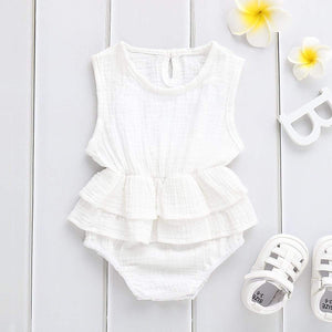 Tilly Sleeveless Tutu Romper Rompers