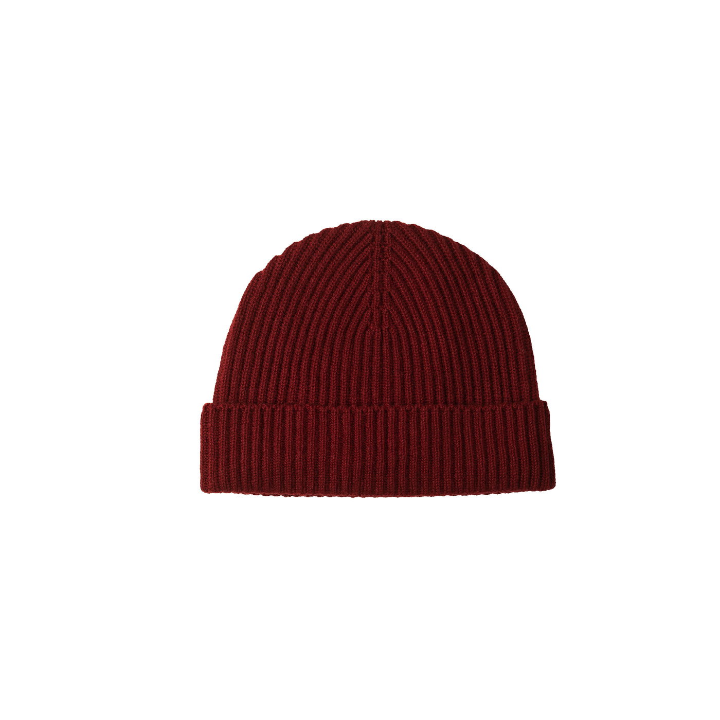 Cashmere Hat - Cabernet Red