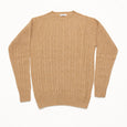 Cable Knit Crewneck - Macchiato