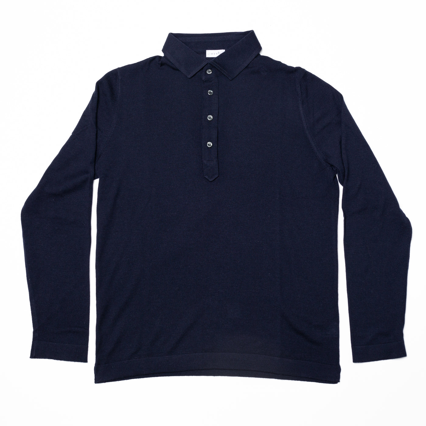 Merino Polo - Blue