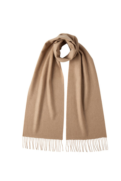 Cashmere Scarf - Light Camel