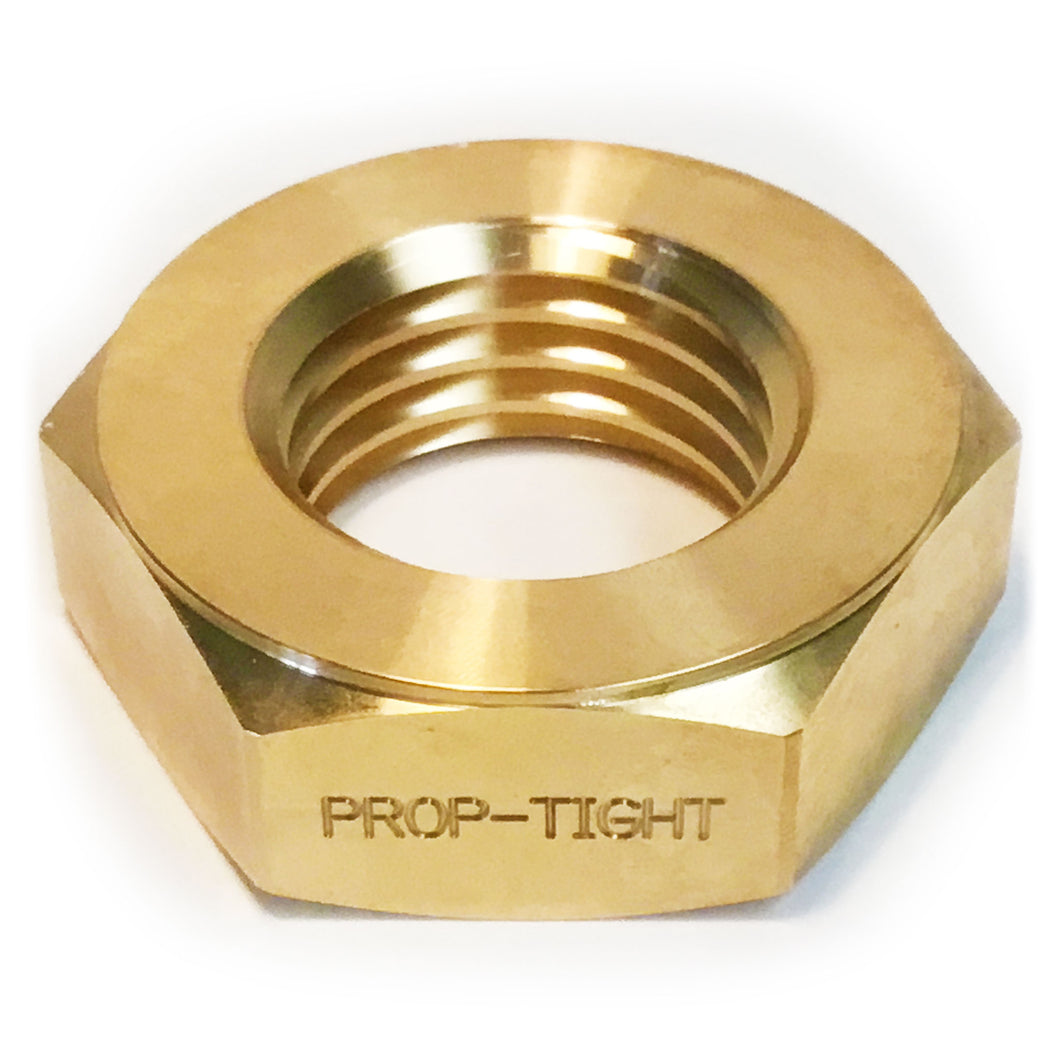 Prop-Tight: the Superior Propeller Locking Nut: Jam Nut