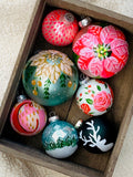 Private Group Holiday Glass Ornament Workshop - Deposit