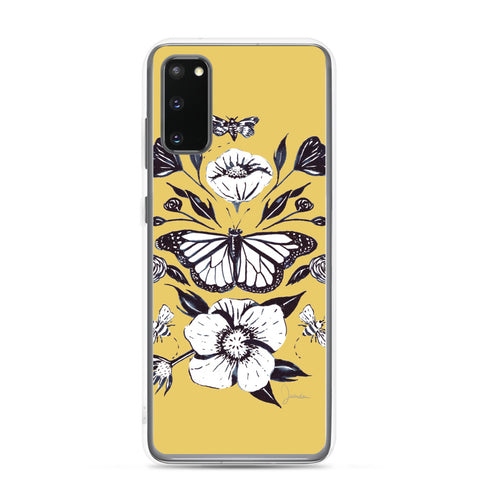 Vintage Butterfly Samsung Case