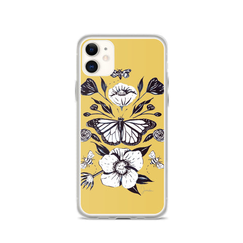 Vintage Butterfly iPhone Case